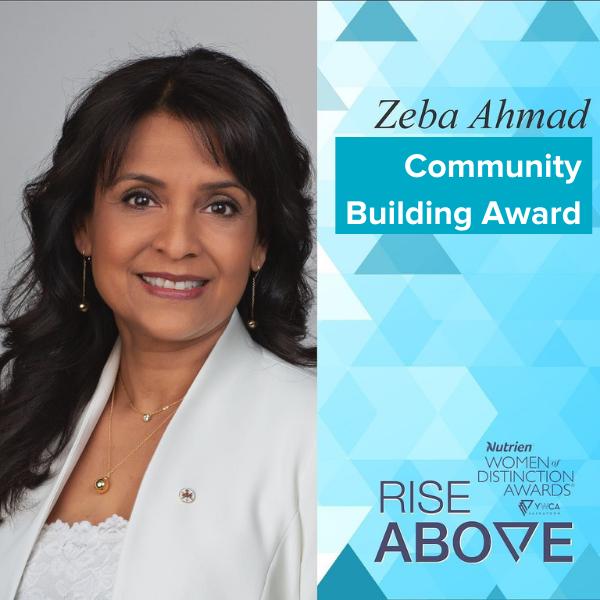 Zeba Ahmad Women of Distinction